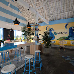 Moya Cafe:  Restoran by Manon Design Studio