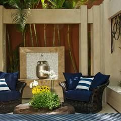 Terraço: Jardins de inverno modernos por Interart Design de Interiores