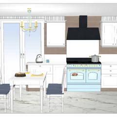 Klas Mimarlık – KLASİK MUTFAK UYGULAMASI:  tarz Mutfak üniteleri