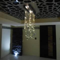 RESIDENCIA: Comedores de estilo ecléctico por Bello diseño interior