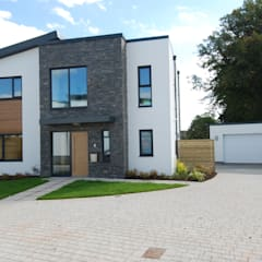 General Images:  Front doors by RK Door Systems, Modern