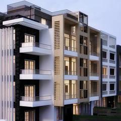 Projekty,  Dom wielorodzinny zaprojektowane przez Belal Samman Architects