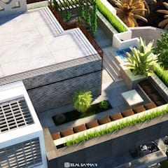 Green Heights:  Roof terrace by Belal Samman Architects