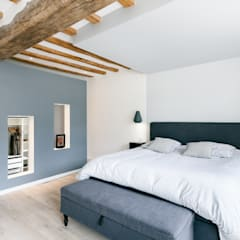 suite parentale chambre de style de style moderne par madam architecture - Photo De Chambre Moderne