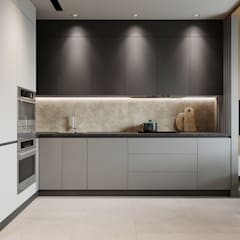 Kitchen by Yurov Interiors