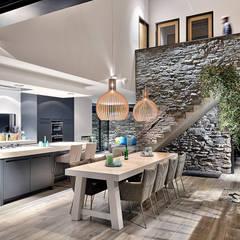 Comedores de estilo  por BNLA architecten
