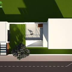 Vista planta: Jardins modernos por Melom Criações