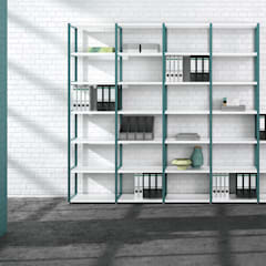 Office Storage:  Study/office by Regalraum UK , Industrial