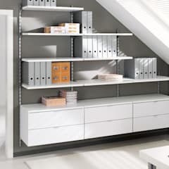 ​Office Storage:  Living room by Regalraum UK