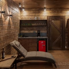 Sauna by Творческая мастерская АRTBOOS, Scandinavian Wood Wood effect