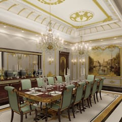Emirates Project:  Dining room by Rêny