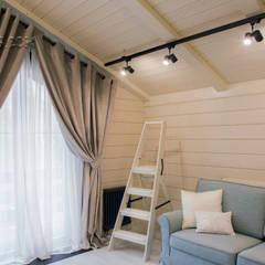 Шале на реке Истра: комнаты для новорожденных в . Автор – Творческая мастерская АRTBOOS