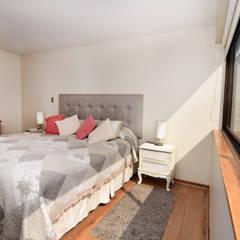 Remodelación Depto Floody: Dormitorios de estilo  por ARCOP Arquitectura & Construcción