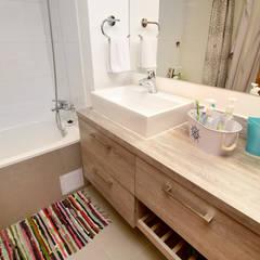 Remodelación Depto Floody: Baños de estilo  por ARCOP Arquitectura & Construcción