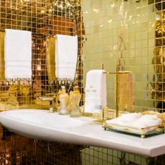 CASA LIVING: Banheiros modernos por arquiteta aclaene de mello