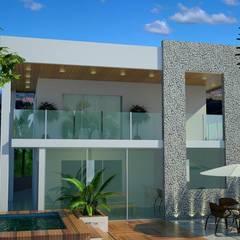 Residencial: Casas familiares  por Legrand Arquitetura