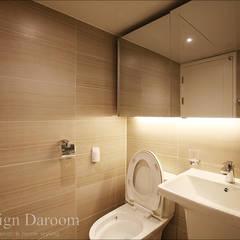 일산 성원3차 아파트 거실욕실: Design Daroom 디자인다룸의  화장실
