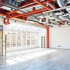 えっ!元銀行!?劇的リノベーションで手に入れた、世界で一つだけの住まい: オレンジハウスが手掛けた壁です。