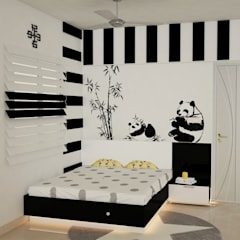 Tienerkamer door DECOR DREAMS