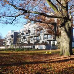 """""""Eilbek Garden"""" - Elfriede-Loose-Wächtler-Weg, Hamburg:  Mehrfamilienhaus von Hans-Ulrich Zöllner Architekten BDB"""