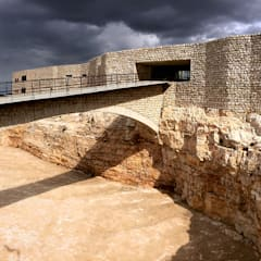 Entrance Bridge:  Conference Centres by Khammash Architects
