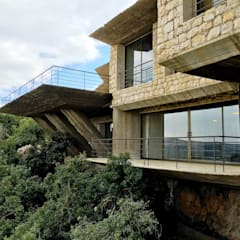 Royal Academy for Nature Conservation توسط Khammash Architects مدرن سنگ