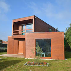 Wooden houses by Rusticasa, Modern Wood Wood effect