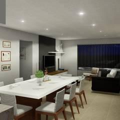 : Comedores de estilo minimalista por ARBOL Arquitectos