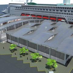 Diseño de varios proyectos: Espacios comerciales de estilo  por Soluciones Técnicas y de Arquitectura , Moderno