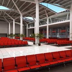 Diseño de varios proyectos: Espacios comerciales de estilo  por Soluciones Técnicas y de Arquitectura