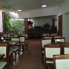 Jardines verticales para tu negocio: Hoteles de estilo  por DVida Jardines verticales