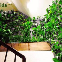 Jardines verticales: Clínicas / Consultorios Médicos de estilo  por DVida Jardines verticales