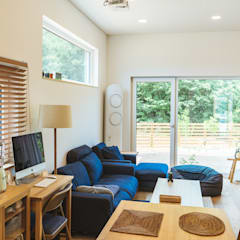 本[bon].집2: AAPA건축사사무소의  거실,모던