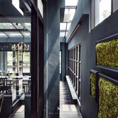 In's Cafe:  餐廳 by 理絲室內設計有限公司 Ris Interior Design Co., Ltd.