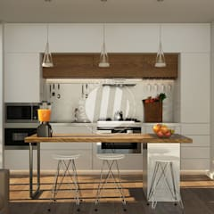 Kitchen units by Mora Project Medan Arsitek & Interior