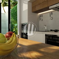 Dapur & Ruang Makan:  Unit dapur by Mora Project Medan Arsitek & Interior