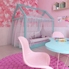 Girls Bedroom by ZIN Studio