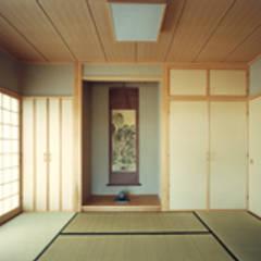 ■三橋邸( 茨城県ひたちなか市 ・文化賞受賞・洋風建築): 結設計事務所が手掛けた和室です。