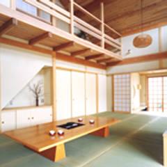■松崎邸( 茨城県明野町 ・住まいの振興賞受賞・和風建築): 結設計事務所が手掛けた和室です。