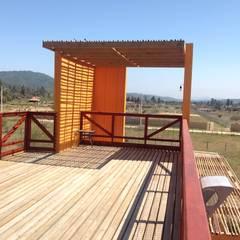 Projekty,  Dom pasywny zaprojektowane przez Arquitectura Amanda Perez Feliú
