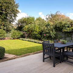 Victorian Conversion:  Garden by Corebuild Ltd