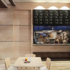 Nadee10 Hotel KhonKaen:  ห้องทานข้าว by HEAD DESIGN