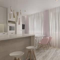 Muebles de cocinas de estilo  por Paleta Form