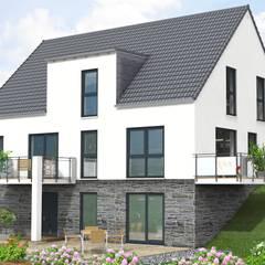Projekty,  Dom wielorodzinny zaprojektowane przez SI-Massivhaus
