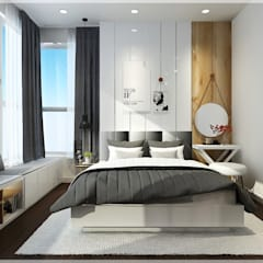Bedroom by Công ty TNHH TMDV Decor KT