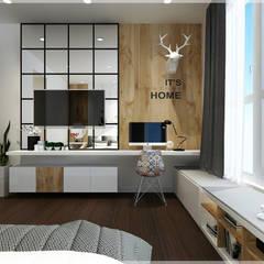 غرفة نوم تنفيذ Công ty TNHH TMDV Decor KT