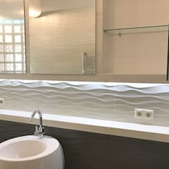Ванная комната: Ванные комнаты в . Автор – meandr.pro