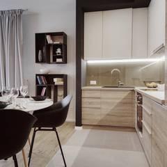 Styl i elegancja zamknięte na cztery spusty: styl , w kategorii Kuchnia zaprojektowany przez Perfect Space