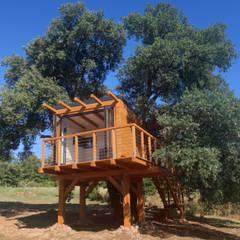 Деревянные дома в . Автор – Livingreen - Architetto Barbara Tavoso