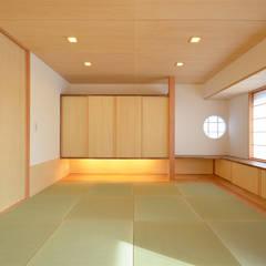 Media room by 鎌田建築設計室